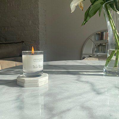 wild rhubarb candle