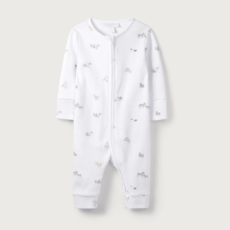 9fd1169669c6 animal-friends-print-zip-sleepsuit