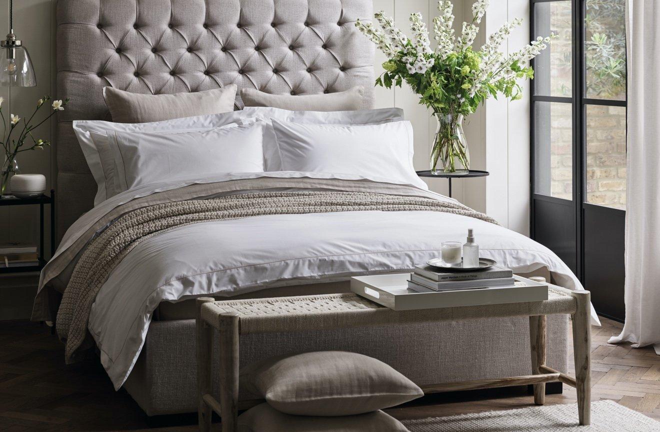 Luxury Bedding Sets Bedroom The White Company Uk