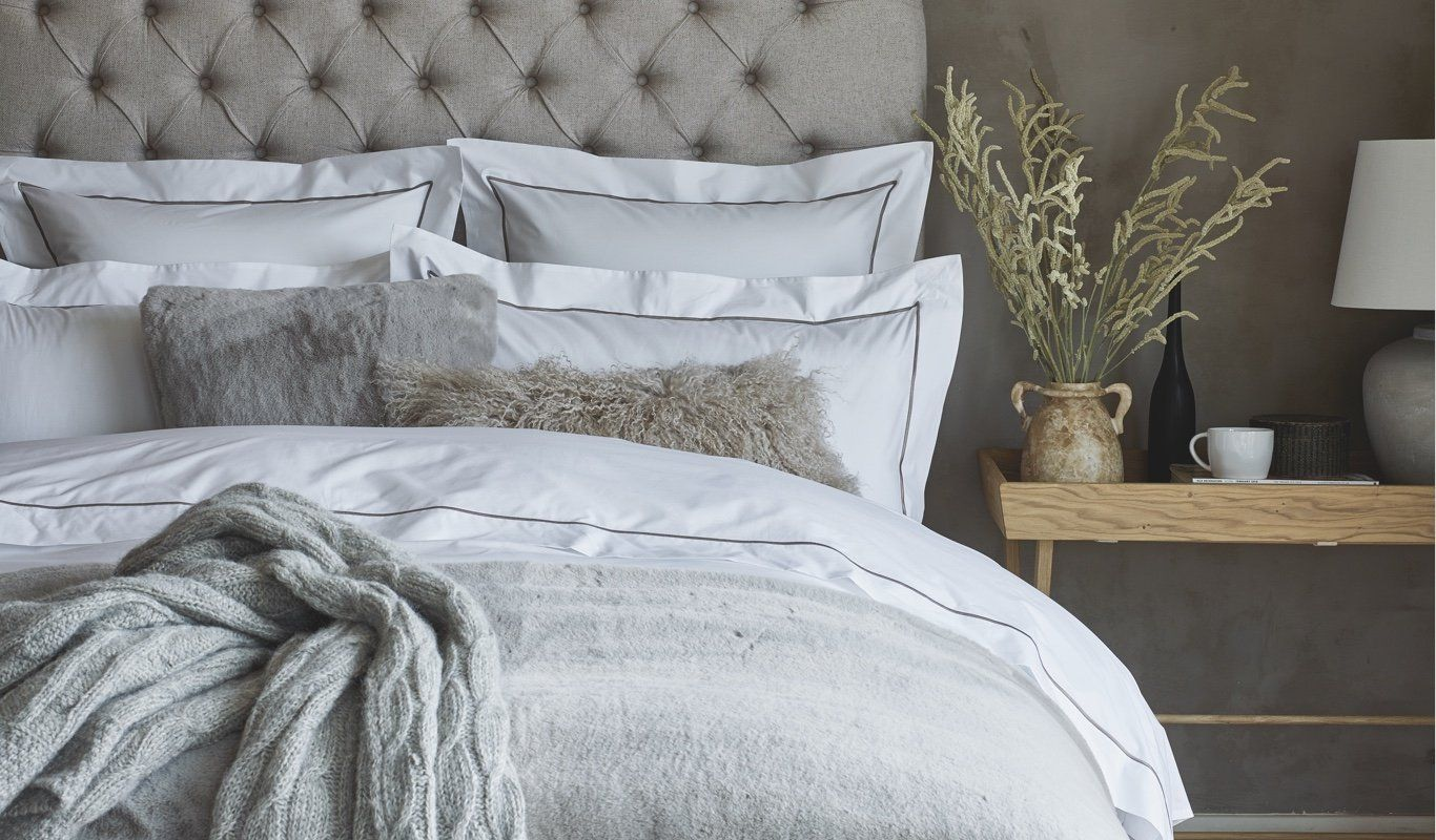 Prime Bedroom Bedding Bed Sheets The White Company Uk Complete Home Design Collection Barbaintelli Responsecom