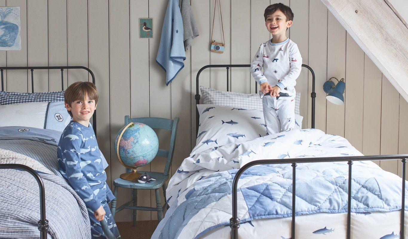 Children\'s Bedroom   Bed Linen & Kids Pyjamas   The Little White ...