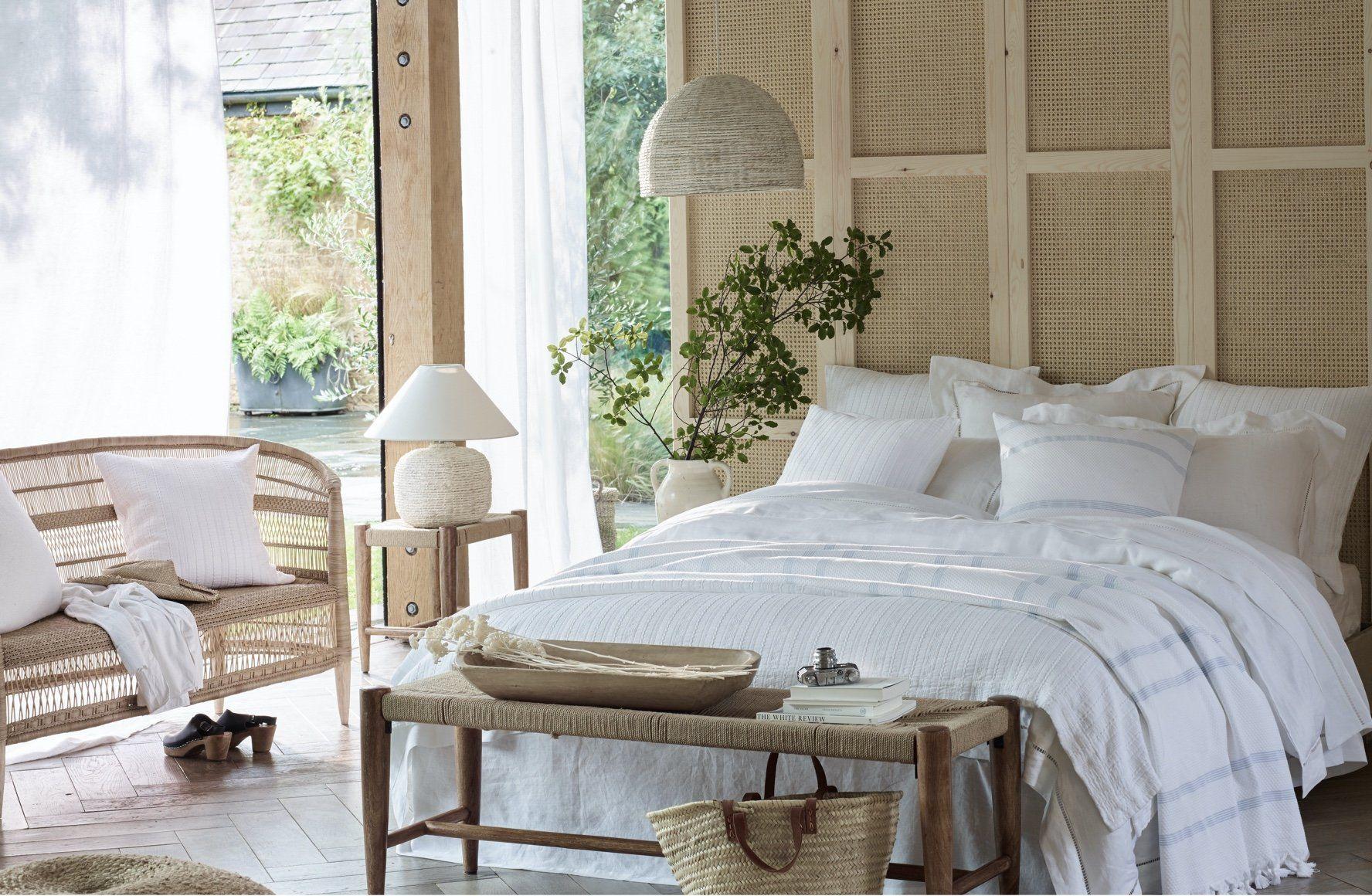 santorini bed linen